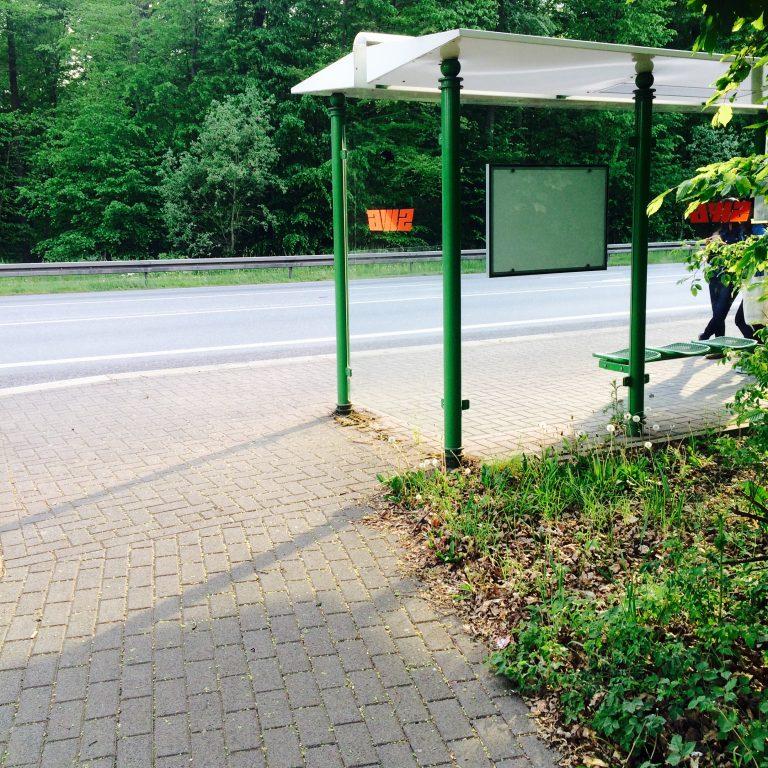 zum Feierabend: Bus fahren
