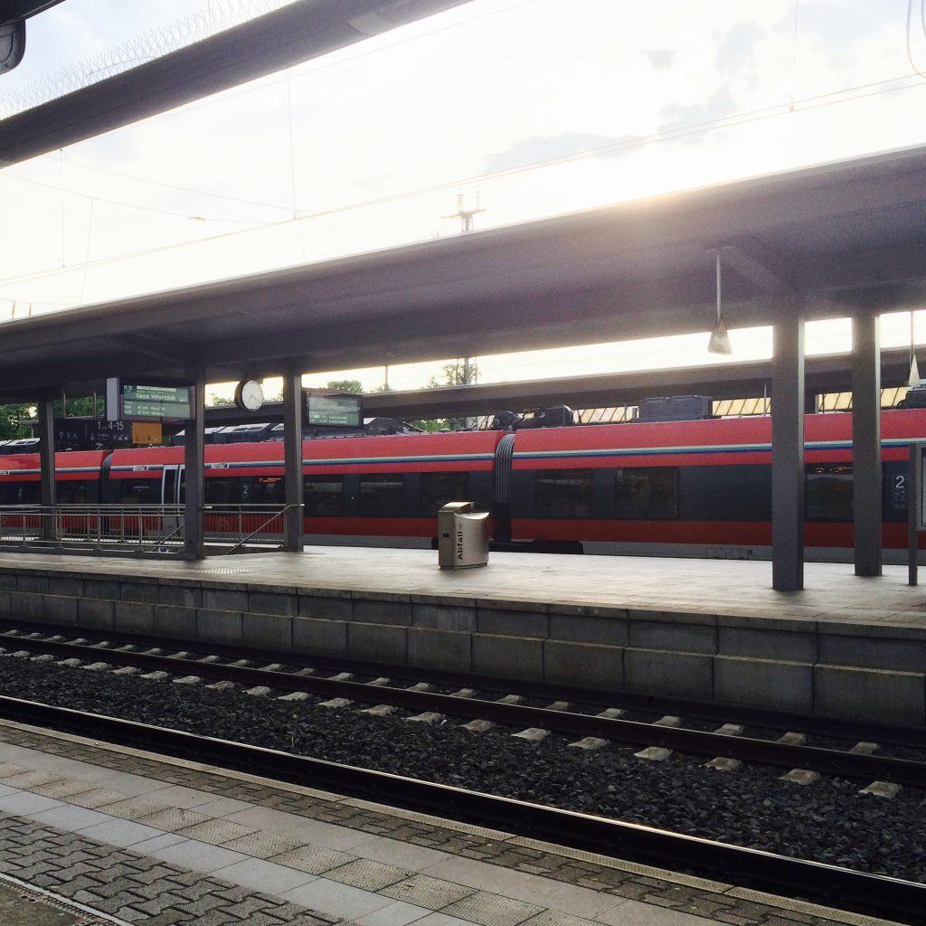 …und Zug fahren