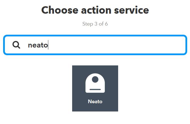 Neato auswählen